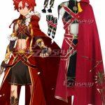 EFN0039 Fate Grand Order Rider Iskandar Cosplay Costume - Fate Series