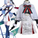 EFN0115 Fate Grand Order Fate Apocrypha Joan of Jeanne d'Arc Alter Santa Lily Christmas Day Cosplay Costume - Christmas Costume