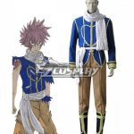 EFT0029 Fairy Tail Dragon Slayers Natsu Dragneel Celestial Spirit Cosplay Costume - Fairy Tail
