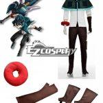 EGE0006 God Eater Lenka Utsugi Jinki Cosplay Costume - God Eater