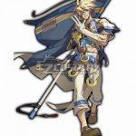 EGGX001 Guilty Gear Xrd Sin Kiske Cosplay Costume - Guilty Gear Xrd
