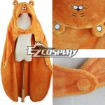 EHU0011 Himouto! Umaru-chan Umaru Doma Orange Cloak Hooded Fleece Blanket Cosplay Costume - Himouto! Umaru-chan