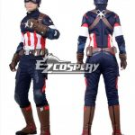 EHW0024 Marvel Avengers: Age of Ultron Captain America Steve Rogers Cosplay Costume - Captain America