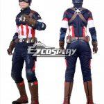 EHW0024 Marvel Avengers: Age of Ultron Captain America Steve Rogers Cosplay Costume - Captain America