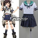 EKCG030 Kantai Collection Destroyer Fubuki Cosplay Costume - Kantai Collection