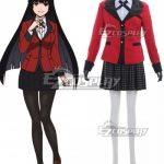 EKGR001 Kakegurui Compulsive Gambler Yumeko Jabami Cosplay Costume - Kakegurui