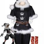 EKH0032 Kingdom Hearts Christmas Sora CT Valor Santa Form Cosplay Costume - Christmas Costume