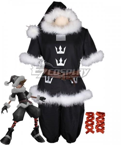 Kingdom Hearts Sora Halloween Town Costume.Ekh0032 Kingdom Hearts Christmas Sora Ct Valor Santa Form Cosplay Costume Christmas Costume