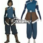 ELK0005 Avatar the legend of Korra Season 4 Korra Cosplay Costume - Avatar: The Legend of Korra