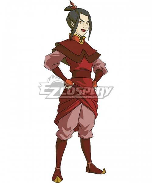 Elk0031 Avatar The Last Airbender Azula New Cosplay Costume