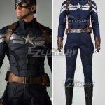 EMAV079 Marvel Captain America The Winter Soldier Steven Steve Rogers Cosplay Costume - Captain America