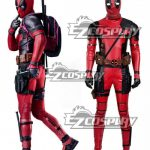 EMAV092 Marvel Deadpool Wade Wilson Cosplay Costume New Version - B Edition - Deadpool 2