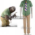 EZIA008 Disney Zootopia / Zootropolis Flash Cosplay Costume - Disney