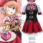 EOR0011 Gochuumon wa Usagi Desu ka? Is the Order a Rabbit? Hoto Kokoa Hot Cocoa Happy Valentine Cosplay Costume - Is the Order a Rabbit?