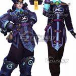 EOWG077 Overwatch OW Halloween Terror Mei Ling Zhou 2017 Cosplay Costume - Halloween Promotion