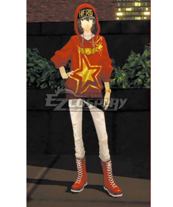Persona 5 Goro Akechi School Uniform Outfits Halloween Cosplay Costume Full Set