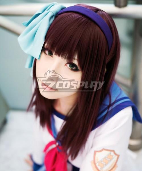 EWG0107 Angel Beats! Nakamura Yuri Wine Cosplay Wig - Angel Beats