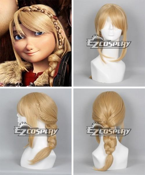 Ewg0320 How To Train Your Dragon 2 Astrid Long Braid Cosplay Wig