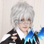 EWG0356 High School DxD BorN Vali Lucifer Silver gray Cosplay Wig - High School DxD