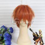 EWG0390 God Eater Kouta Fujiki Jinki Orange Cosplay Wig - God Eater