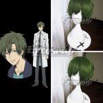 EWG0395 Aoharu x Machinegun Aoharu x Kikanjuu Nagamasa Midori Hoshishiro Green Cosplay Wig - Aoharu x Machinegun