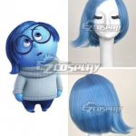 EWG0616 Inside Out Sadness Blue Cosplay Wig - Inside Out