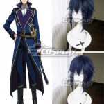 EWG0664 K Return Of Kings Munakata Reisi Blue Cosplay Wig - K RETURN OF KINGS