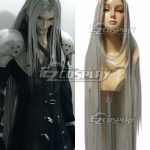 EWG0775 Final Fantasy VII FF7 Sephiroth Silver Cosplay Wig - Final Fantasy