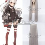 EWG0901 Kantai Collection KanColle Destroyer Amatsukaze Silver Gray Cosplay Wig - Kantai Collection