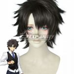 EWG1087 Fate Grand Order Male Master Black Cosplay Wig - Fate Series