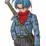 EWG1198 Dragon Ball Super Future Trunks Cosplay Wig - Dragon Ball Super