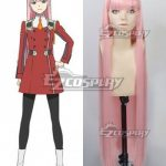 EWG1461 Darling in the Franxx Zero Two Code 002 Pink Cosplay Wig - Darling in the Franxx