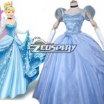 EZCP001 Disney Ainimation Cartoon Cinderella Princess Cinderella Cosplay Costume - Disney