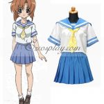 EWC0003 Higurashi When They Cry Rena Ryuugu School Uniform Cosplay Costume - Higurashi When They Cry