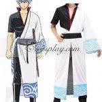EGT0004 Gintama Sakata Gintoki Cosplay Costume - Gintama