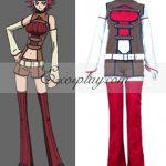 ECG0004 Code Geass Lelouch of the Rebellion Kallen Stadtfeld Cosplay Costume - Code Geass