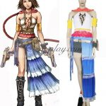 EFF0002 Final Fantasy XII 12 Yuna Cosplay Costume - Final Fantasy