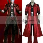 EDC0000 Devil May Cry 4 Dante Cosplay Costume - Without Coat - Devil May Cry