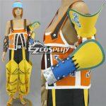 EFF0055 Final Fantasy X FF10 Wakka Cosplay Costume - Final Fantasy