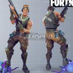 EFBR006 Fortnite Battle Royale Male Soldier Cosplay Costume - Fortnite Battle Royale