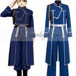 EFA0003 Fullmetal Alchemist Riza Hawkeye Military Cosplay Costume - Fullmetal Alchemist