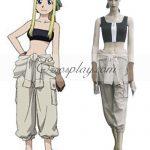 EFA0012 Fullmetal Alchemist Winry Rockbell Cosplay Costume - Fullmetal Alchemist