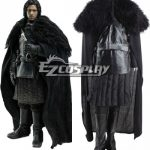 GOT0010 Game of Thrones Jon Snow Cosplay Costume Fancy Party Outfit Full Set - Game of Thrones