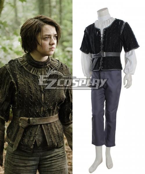 Got0015 Game Of Thrones Arya Stark Cosplay Costume Game Of Thrones