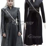 GOT0026 Game of Thrones Season 7 Daenerys Targaryen Cosplay Costume - Starter Edition - Game of Thrones