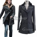 EHP0015 Harry Potter Hermione Jane Granger Grey Coat Cosplay Costume - Harry Potter