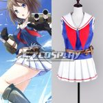 EKCG006 Kantai Collection Maya Chokai Sailor Uniform Cosplay Costume - Kantai Collection