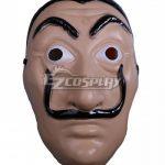 ENA0823 La Casa de Papel Dali Halloween Mask Cosplay Accessory Prop - Halloween Promotion