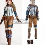 NAEZ067 The Witcher 3: Wild Hunt Triss Cosplay Costume - Game Jacket