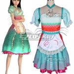 NAEZ108 Alice: Madness Returns Alice Under Water Siren Cosplay Costume - Alice: Madness Returns